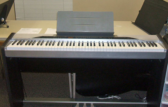 A digital piano - not a piano